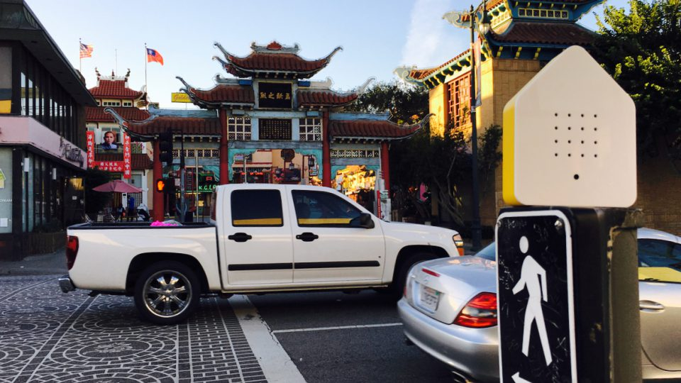 Die Zwitscherbox in Chinatown
